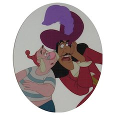 Walt Disney - Hook & Smee - Limited Edition Cel - Signed