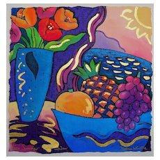 Stephan Whittle - Original Serigraph - Summer Window