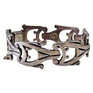 Sterling  Silver Bracelet, Flores