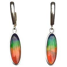 Elegant Ammolite Earrings
