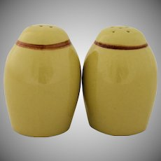 Vintage Stangl Pottery White Dogwood Salt and Pepper Shakers