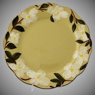 Vintage Stangl Pottery White Dogwood Charger Platter or Round Serving Plate
