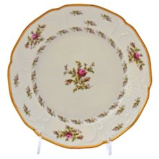 Rosenthal Sanssouci Dinner Plate Ivory Rose Pastorale Porcelain 10 Inches