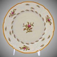 Rosenthal Sanssouci Dinner Plate Ivory Rose Pastorale Porcelain 10 Inches