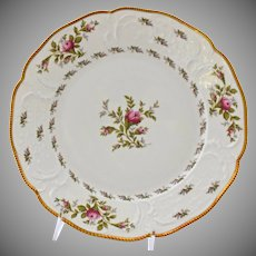 Rosenthal Sanssouci Salad Plates Ivory Rose Pastorale Porcelain 8 Inches