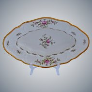 Rosenthal Sanssouci Relish Serving Pickle Dish Roses Pastorale Pattern 10.25 Inches