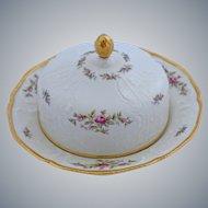 Rosenthal Sanssouci Butter Covered Serving Dish Ivory Rose Pastorale Pattern