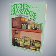 Vintage Collector Book Kitchen Glassware of the Depression Years Gene Florence 3rd Edition 1987