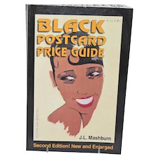 Black Postcard Price Guide Collector Book by J.L. Mashburn 2nd edition Copyright 1999