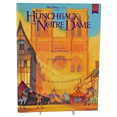 Walt Disney Hunchback Of Notre Dame Sheet Music Easy Piano Book Copyright 1996