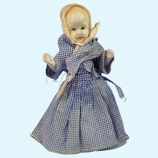 All Bisque Girl, Pioneer Dress, Japan