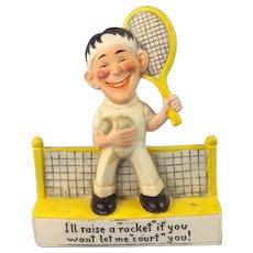 Comic Schafer & Vater Tennis Man
