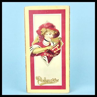 Palmer's Harvard Candy Box, F. Earl Christy Lady