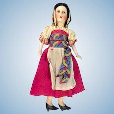 Petite Leschhorn Boudoir Ethnic Doll, All Original