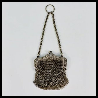 France Chatelaine Doll Purse Art Nouveau