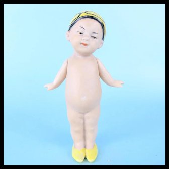 Gebruder Heubach Character Oriental Chin Chin Baby