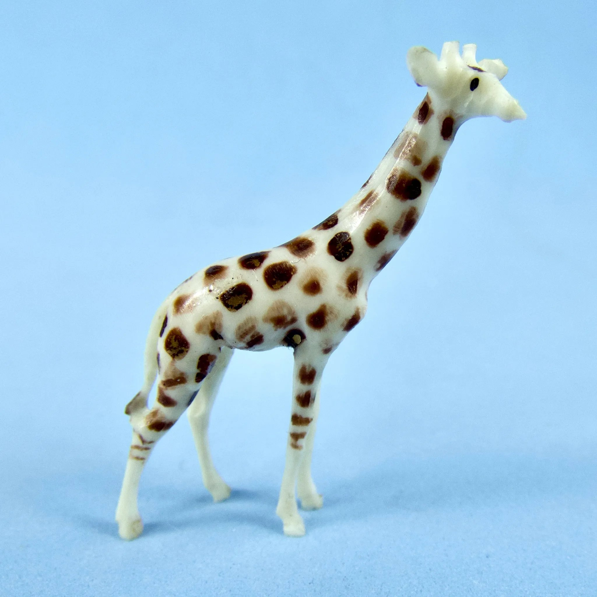 Tiny Hand Carved Bone Giraffe Austin Sible Antiques Ruby Lane