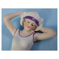 Bisque Relpaw Scheidig Bathing Beauty, Molded Swimsuit