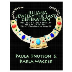 New Book Juliana Jewelry of D&E 1970-80's The Last Generation