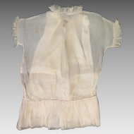 Circa 1900 Doll Dress and Slip for 26 to 28 inch