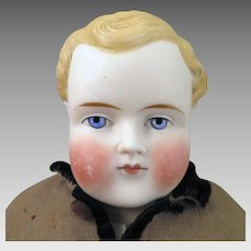 1870-80 ABG Bisque Boy Doll 16 inches