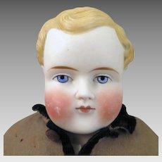 1870-80 ABG Bisque Boy Doll 16 inches