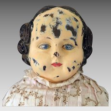1865 Goodyear Rubber Doll 25 inches