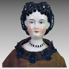 1870s Conta Boehme China Doll 15 inches
