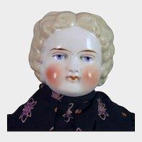 Bawo Dotter Blond China Doll 22 inches
