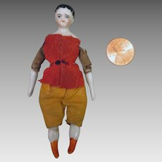 3.25 inch Early China Boy for Doll House