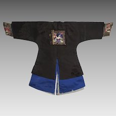 Antique Chinese Tunic for 18 inch Doll