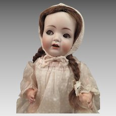 Antique Simon Halbig 1296 Flirty Eye Breather Baby Doll