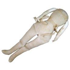 Vintage 15.5 inch Body for Antique Shoulder Head Doll