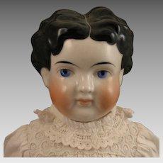 24 inch Antique German ABG Child China Head Doll