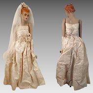 1940-50 Manikin Doll Bride 24 inch
