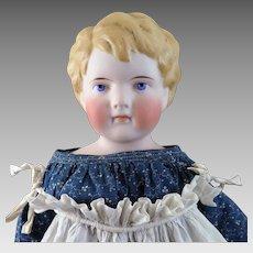 Antique Kling Model 140 Parian Bisque Doll 22 inches