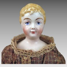 Antique Rorstrand Parian Bisque Doll 12.5 inches