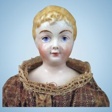 Antique Rorstrand Parian Bisque Doll 12.5 inches