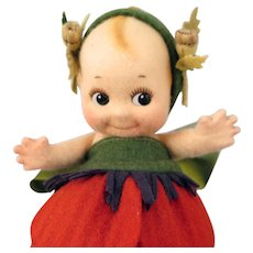 R John Wright Poppy Kewpie Doll 86 of 250