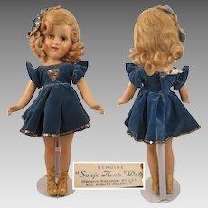 1939 Madame Alexander Sonja Henie Compo All Original 18 inch