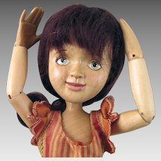 2013 Xenis Spice Girl Nutmeg BJD Wood Doll 6th of 10