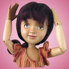 2013 Xenis Spice Girl Nutmeg BJD Wood Doll 6th of 10