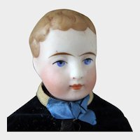 1880s Simon and Halbig Parian Bisque Scottish Boy Doll 10 inches