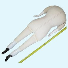 Vintage Replacement Body for China Shoulder Head Doll 24 inches