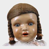 European Biscaloid Girl Doll 15  inches