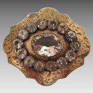 Victorian Paste Brooch