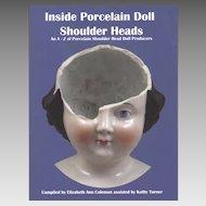 Book Inside Porcelain Doll Shoulder Heads by Coleman and Turner