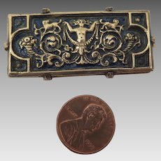 Antique Victorian Brooch with Dogs