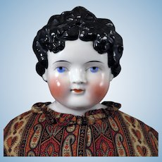 1870s ABG Dolley Madison China Doll 27 inches