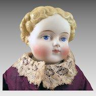 1870s Alt Beck Gottschalck Parian Bisque Doll 15 inches